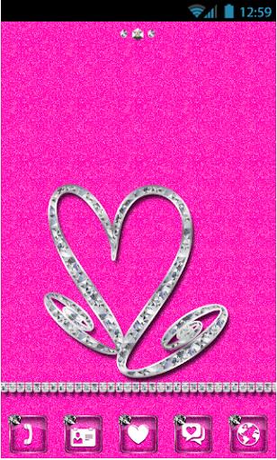 Diamonds Go Launcher EX Theme