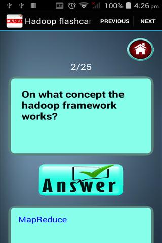 玩教育App|Hadoop的闪存卡免費|APP試玩