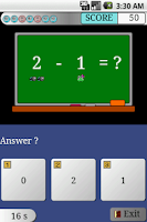 Screenshot of Subtraction Study EX Trial