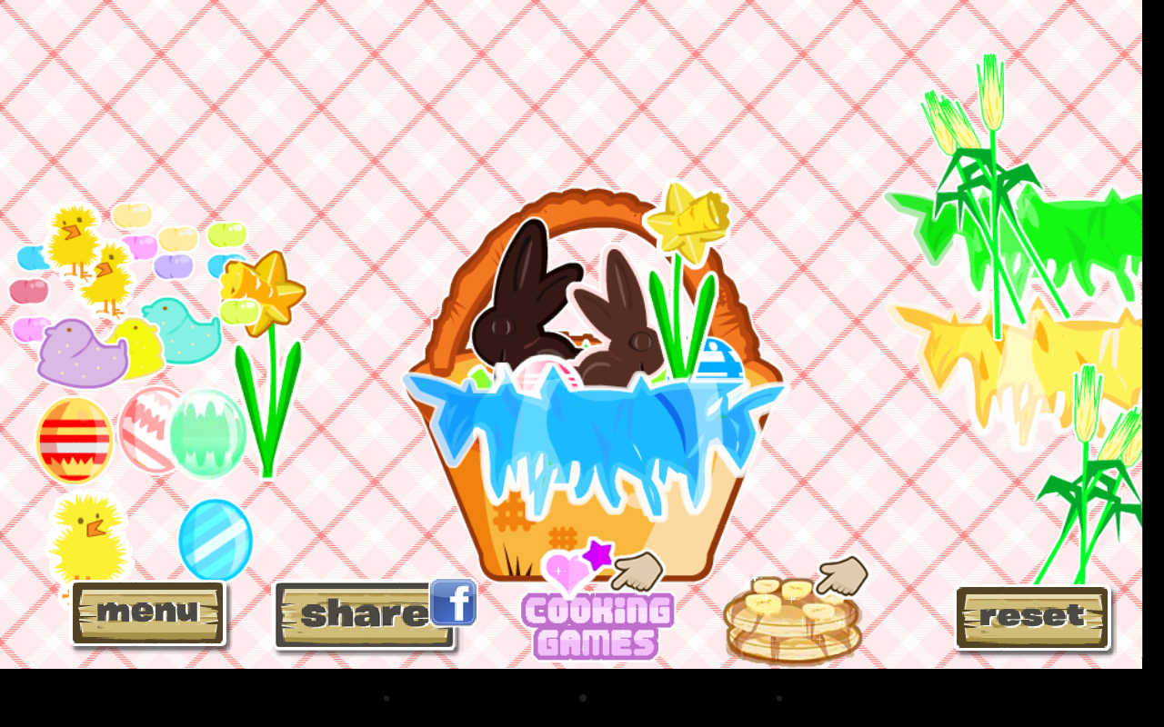 Easter Basket Dressup - screenshot