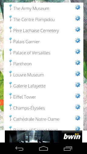 GPS Paris Sin Internet