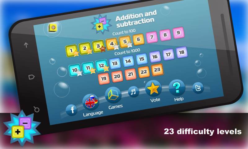 Mental Math for kids Free- screenshot