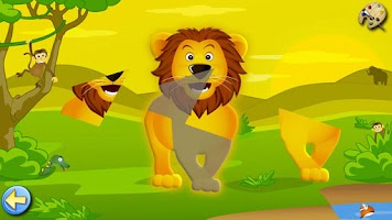 Screenshot of Savanna - Coloring Games Kids