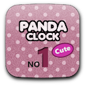 Panda Clock No1 Cute logo