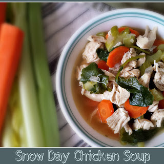 Snow Day Chicken Soup.