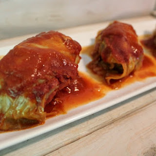 15 Minute Crock Pot Cabbage Rolls