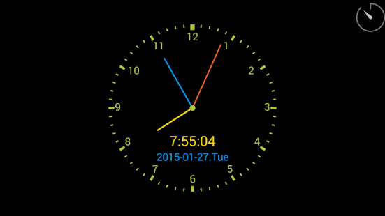 ClockView - Always On Clock - screenshot thumbnail