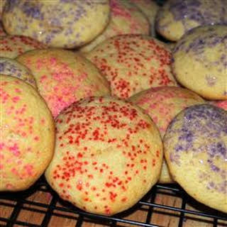 Old Time Soft Sugar Cookies.
