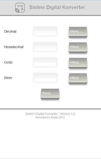 Sistem Digital Konverter