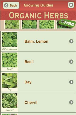 Grow Organic Herbs FREE- screenshot