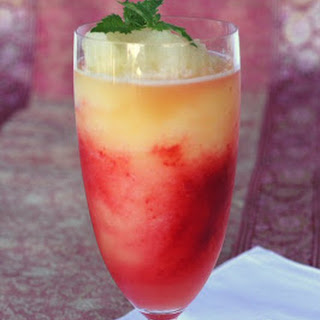 Raspberry-Citrus Slushies
