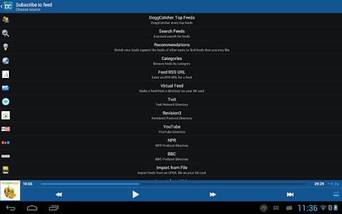 DoggCatcher Podcast Player Screenshot 27
