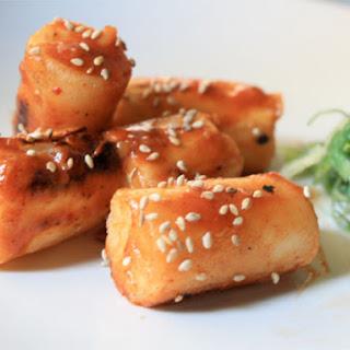 Korean Rice Cakes (Dok Boki).
