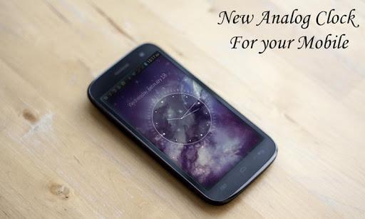 Galaxy X HD Analog Clock LWP