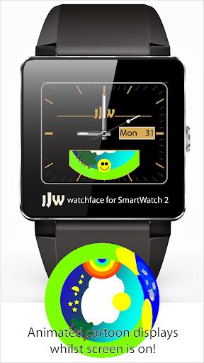 Animated Cartoon Watchface SW2
