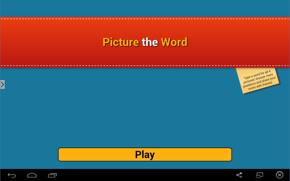 Picture the Word- screenshot