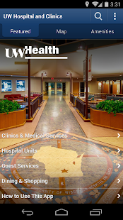 UW Health Navigator- screenshot thumbnail