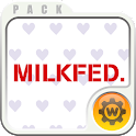 MILKFED. Widget icon