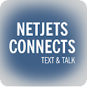 NetJets Connects Text & Talk icon