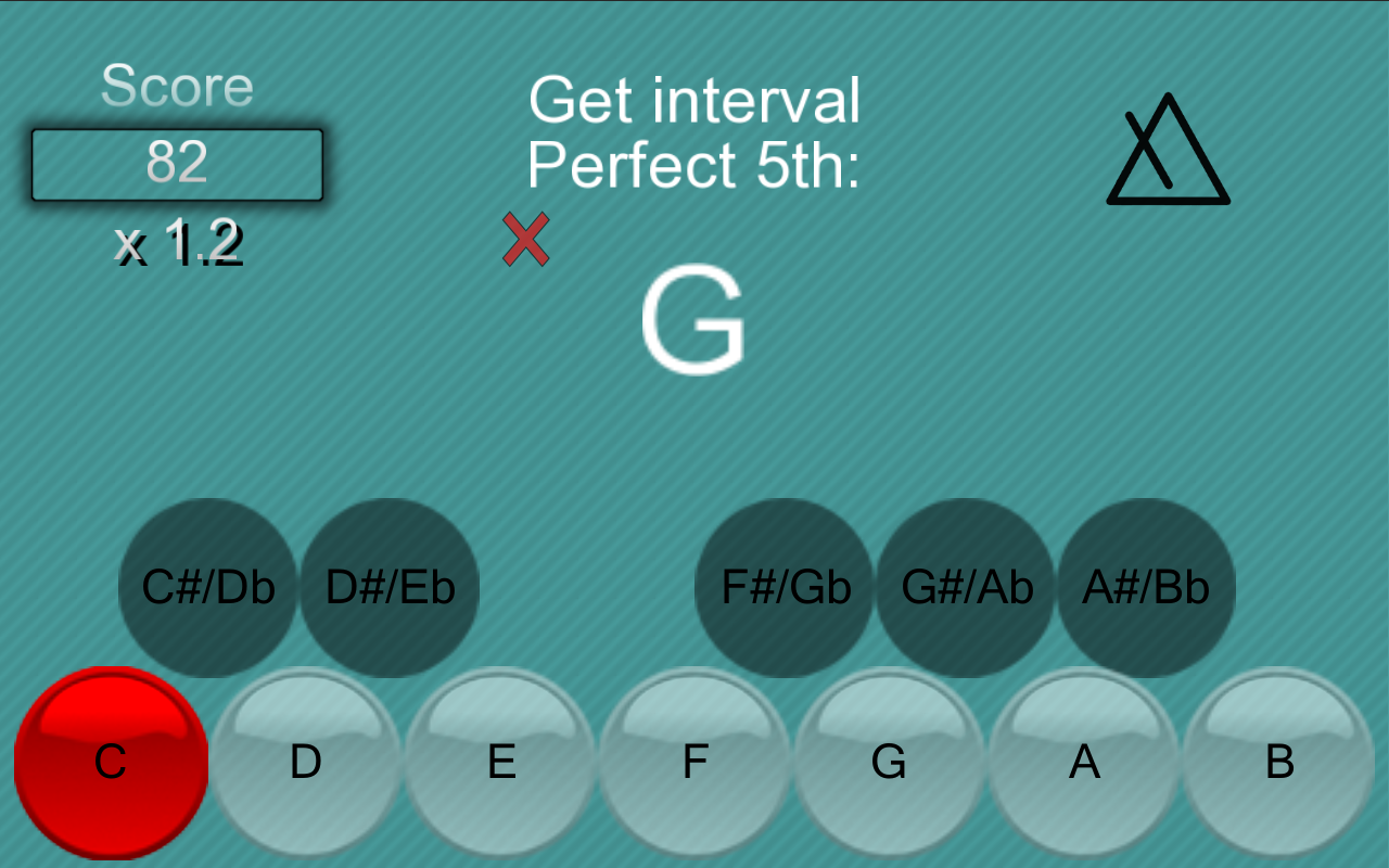 Music School:Interval & chords- screenshot