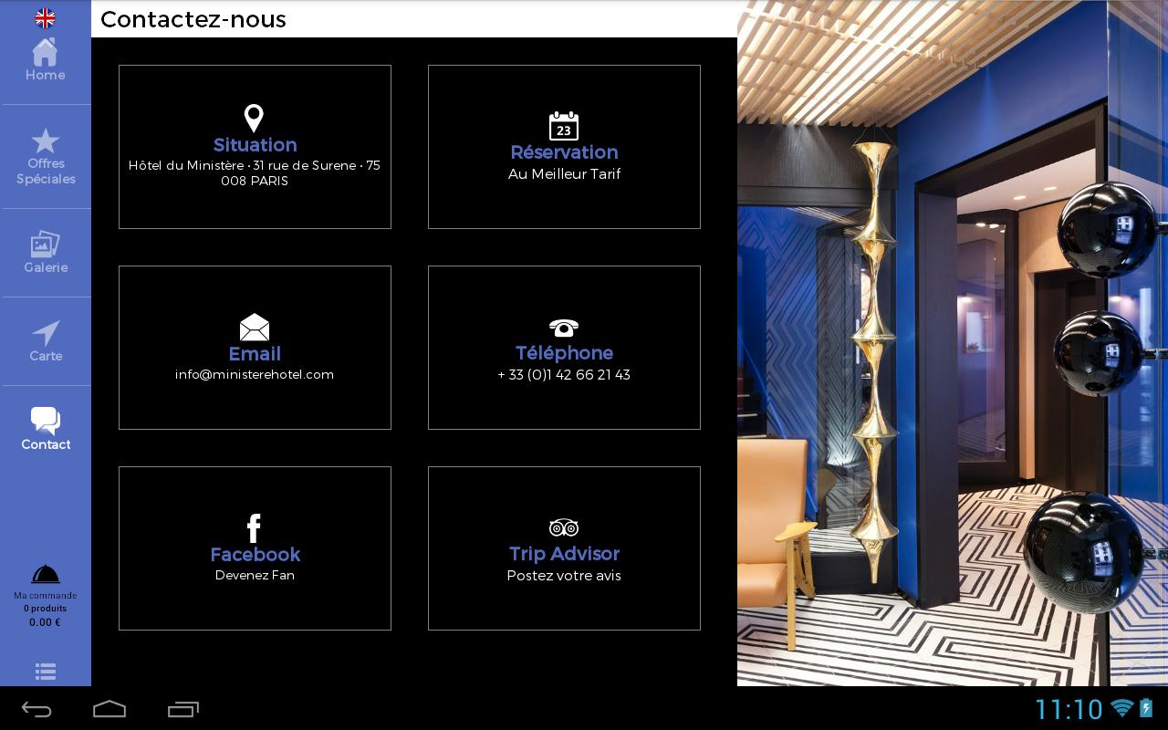 Ministère Hôtel - screenshot