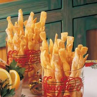 Crisp Cheese Twists