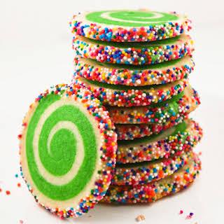 Spiral Sugar Cookies.