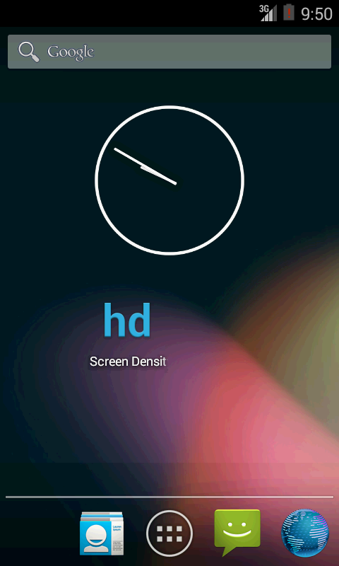 Screen Density - screenshot