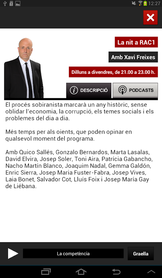 RAC1 Oficial - screenshot