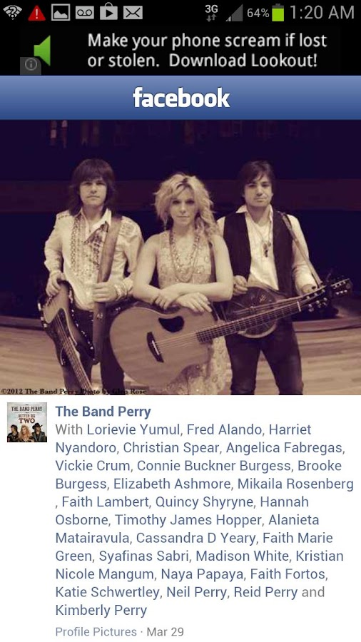 The Band Perry All Access - screenshot