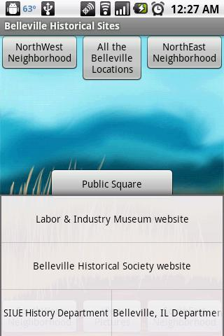 Belleville Historical Sites - screenshot