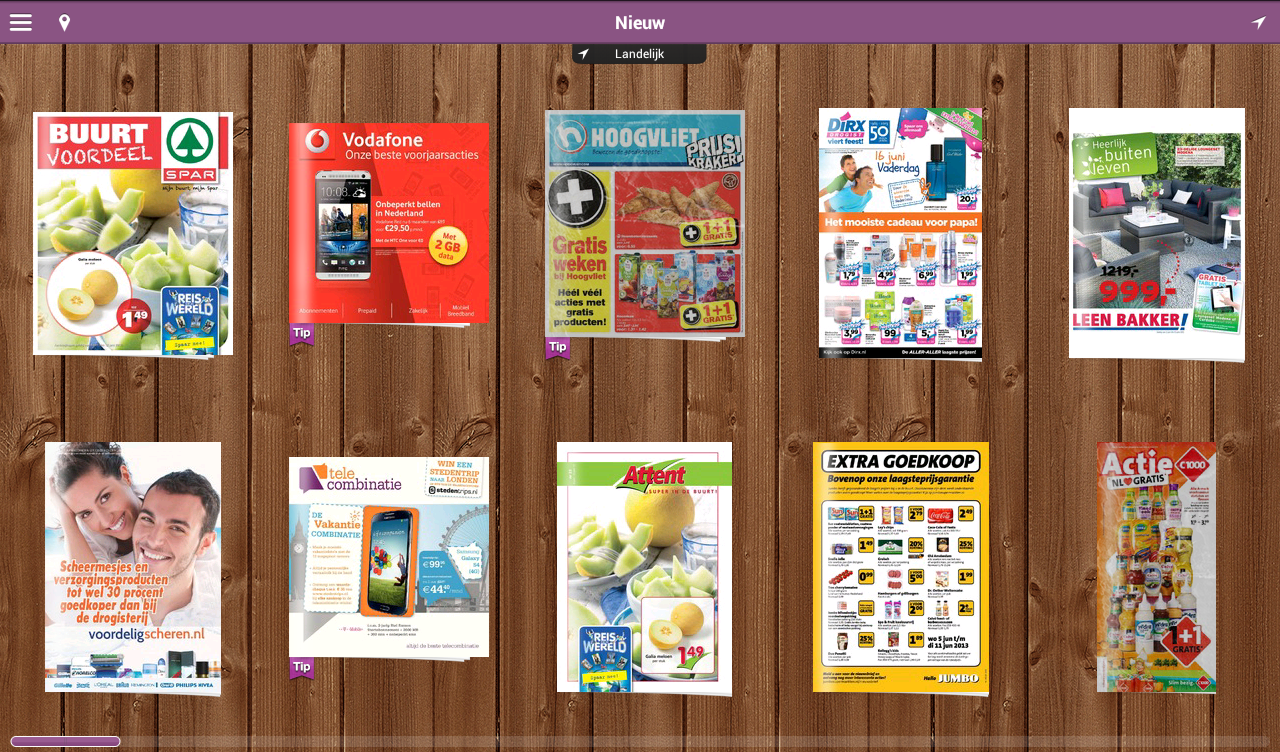 Reclamefolder - Folders Online - screenshot