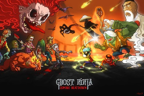 Ghost Ninja:Zombie Beatdown - screenshot thumbnail