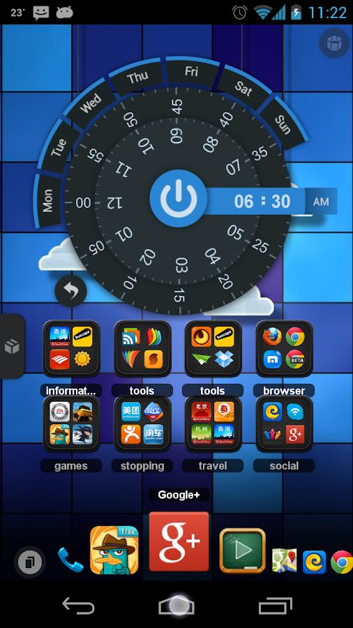 TSF Shell - screenshot
