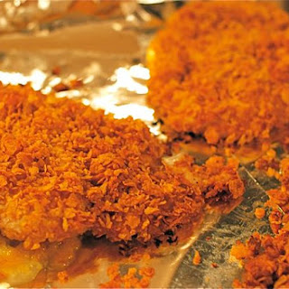 Grandma Pat's Oven-Fried Cornflake Chicken.