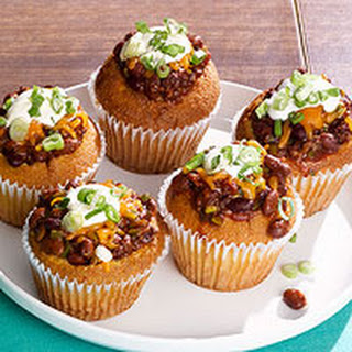 Sloppy Joe Chili Corn Muffins
