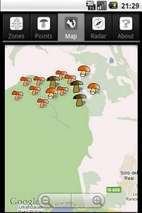 Trackeen Edición Setas: miniatura de captura de pantalla