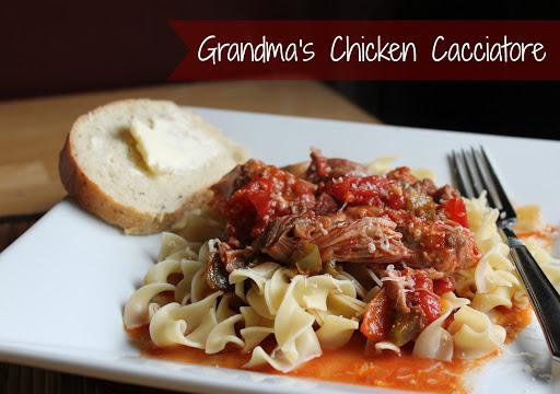 Grandmas Chicken Cacciatore