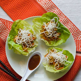 Gluten Free Chinese Chicken Lettuce Cups