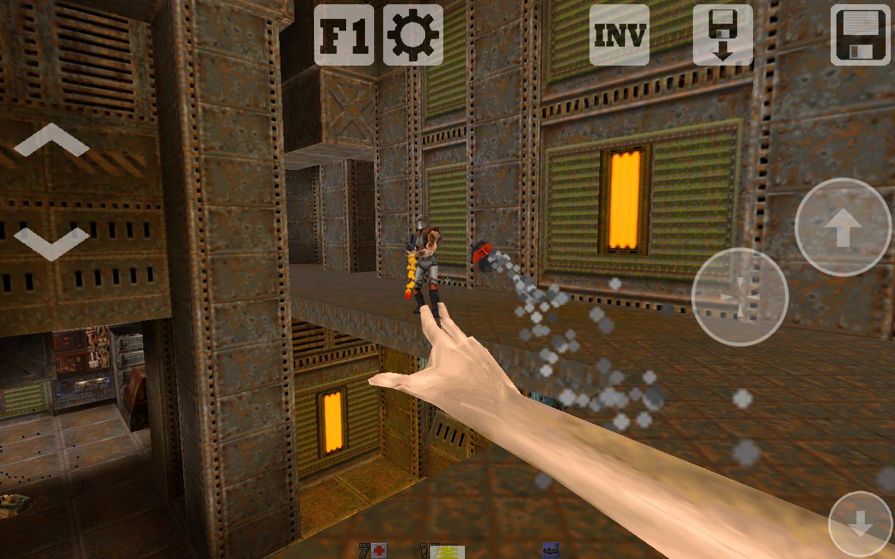Q2-Touch (Port of Quake 2) - screenshot