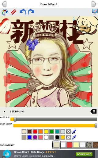 【免費攝影App】Cartoon PaintBrush MomentCam-APP點子