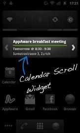 Calendar Widget - Pro Screenshot 1