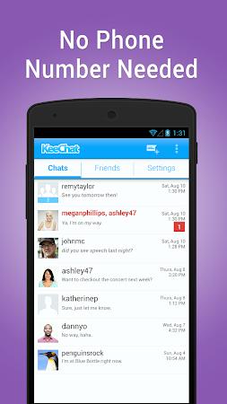 KeeChat Messenger - Free chats 1.5 screenshot 28128