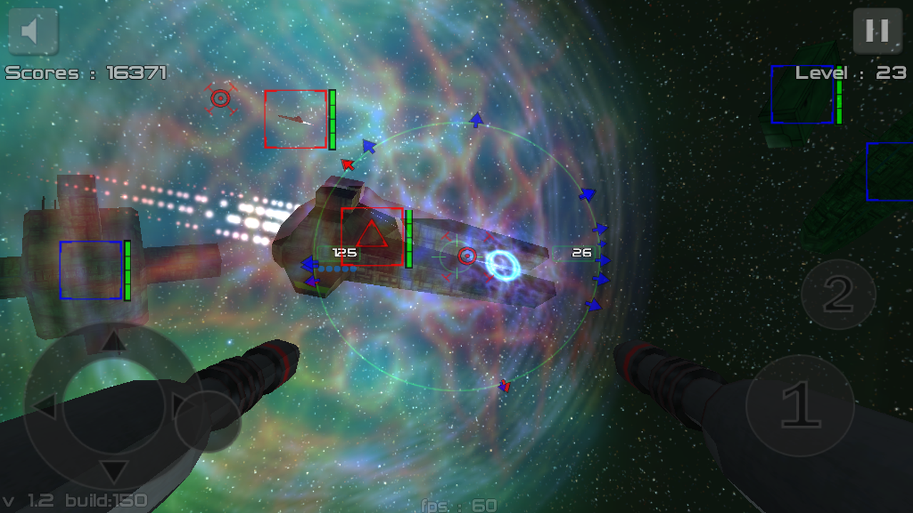 Gunner FreeSpace Defender Lite - screenshot