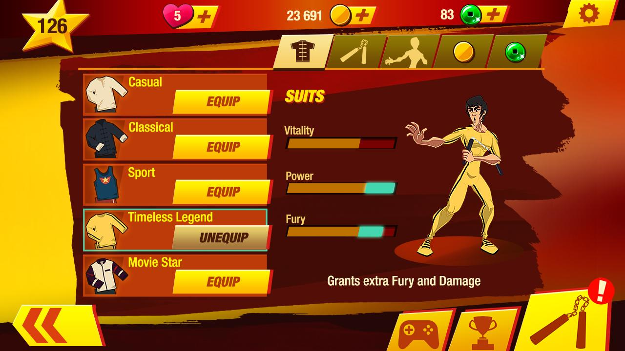 Screenshots of Bruce Lee: Enter The Game for iPhone