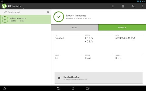 µTorrent®- Torrent Downloader v2.19.50