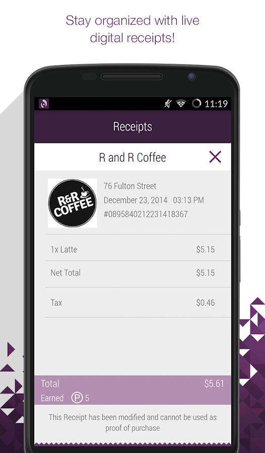 AppCard-Buy. Earn. Redeem. - screenshot