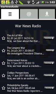 WarNewsRadio- screenshot thumbnail