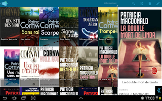 Screenshot of My books