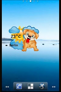 Puppy Weather Widget screenshot 1